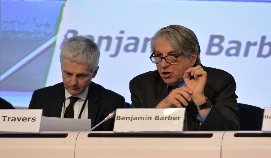 Benjamin Barber (benjaminbarber.org) **FILE**