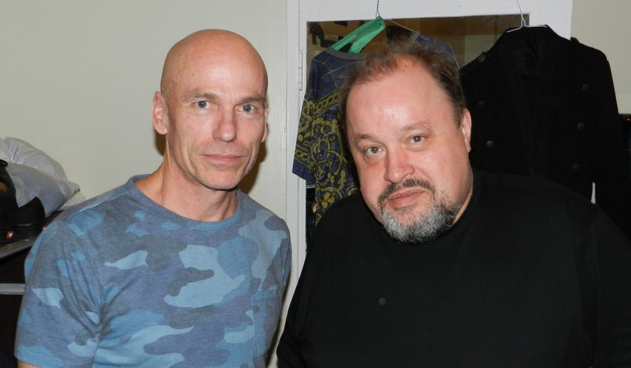 Mark Kelly (left) and Steve Rothery of Marillion.  (Dave Kapp)