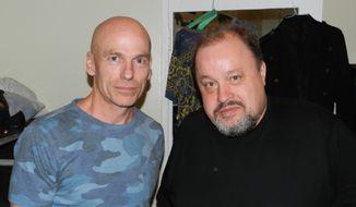 Mark Kelly (left) and Steve Rothery of Marillion.  (Dave Kapp)