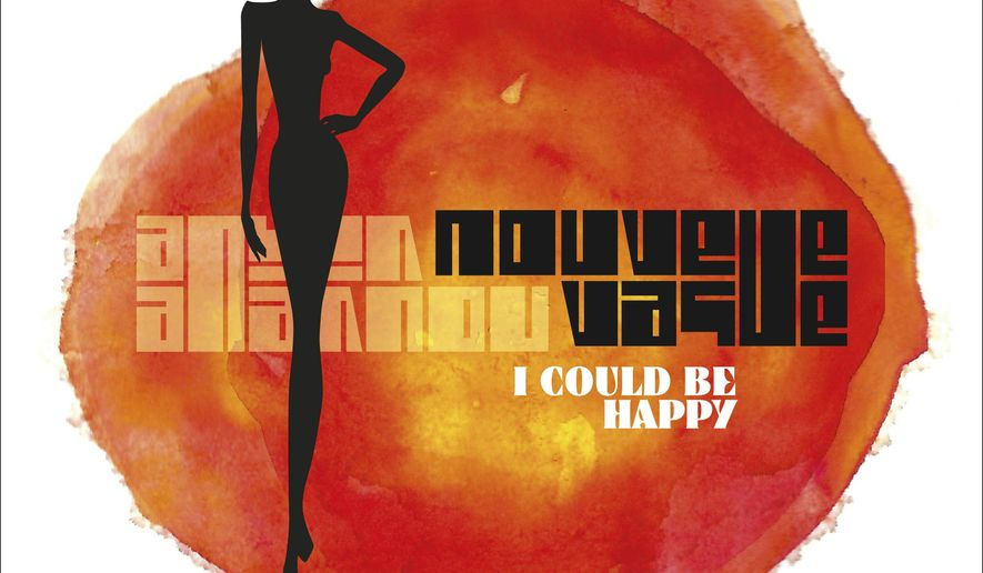 "This CD cover image released by Kwaidan Records/IK7 shows ""I Could Be Happy,"" by Nouvelle Vague. (Kwaidan Records/IK7 via AP)"