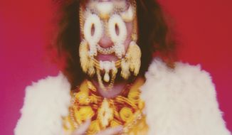 """This image released by ATO Records shows, """"Eternally Even,"""" the latest release by Jim James. (ATO Records via AP)"""