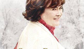 "This CD cover image released by Syco/Columbia shows ""A Wonderful World,"" by Susan Boyle. ( Syco/Columbia via AP)"