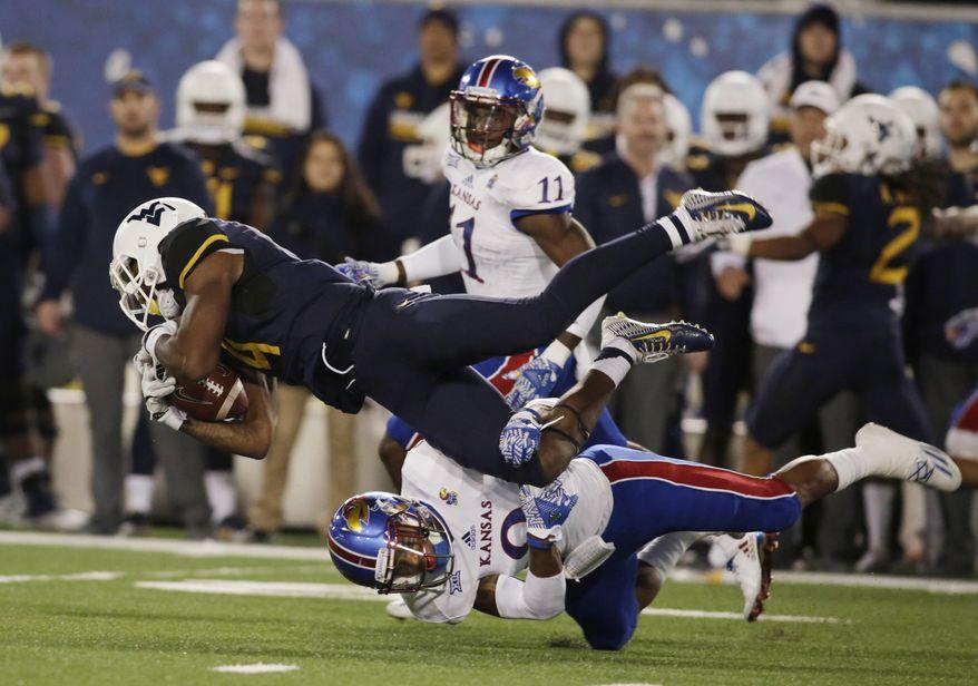Aptopix Kansas West Virginia Football Jpeg Washington Times