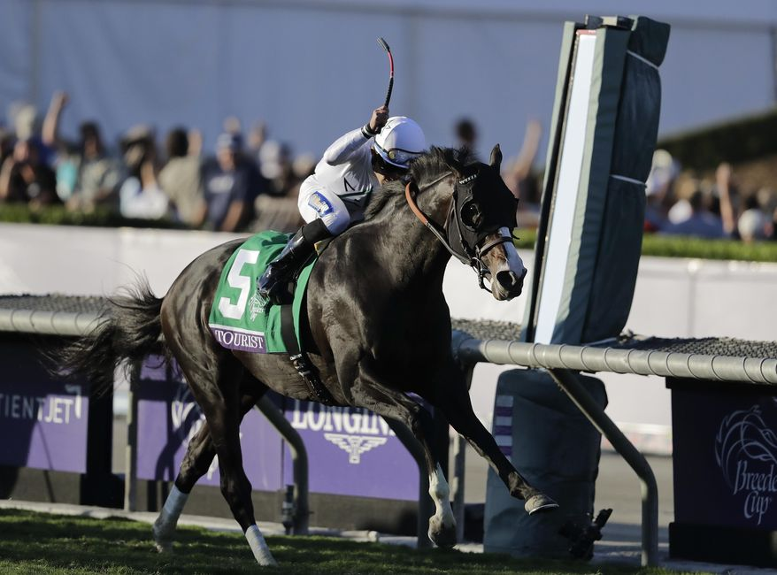 Tourist Ridden By Joel Rosario Crosses The Finish Line To