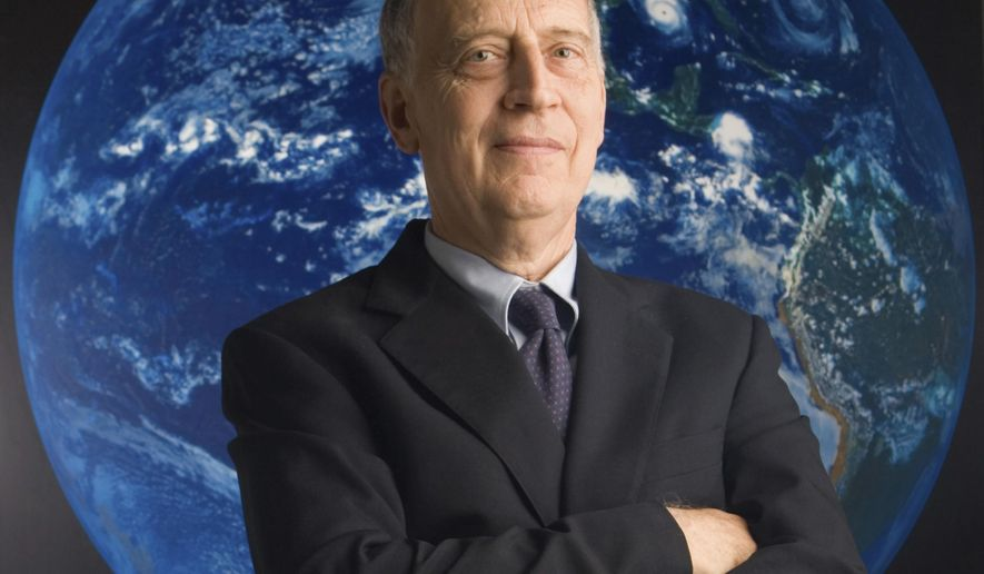 This undated photo shows Ralph J. Cicerone, president emeritus of the National Academy of Sciences and a renowned authority on atmospheric chemistry and climate change, in Washington. Cicerone has died at age 73. William Kearney, director of media relations for the Washington, D.C.-based National Academies of Sciences, Engineering, and Medicine, said Cicerone died unexpectedly at his home in Short Hills, New Jersey, on Saturday, Nov. 5, 2016. (Mark Finkenstaedt/National Academy of Sciences via AP)