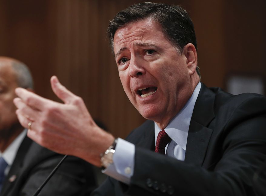 FBI Director James B. Comey said. (Associated Press) ** FILE **