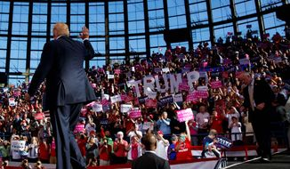 Republican presidential candidate Donald Trump says he's resonating in places where the GOP hasn't been relevant for years. (Associated Press)