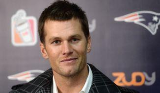 New England Patriots quarterback Tom Brady (Associated Press)