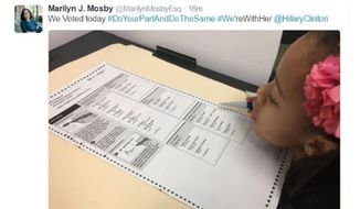 State's Attorney Marilyn Mosby tweeted, then deleted a prohibited ballot-box photo on Election Day. (WMAR)