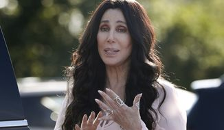 """""""I AM NOT OK,"""" Cher tweeted early Wednesday, one word per line, for emphasis. (Associated Press)"""