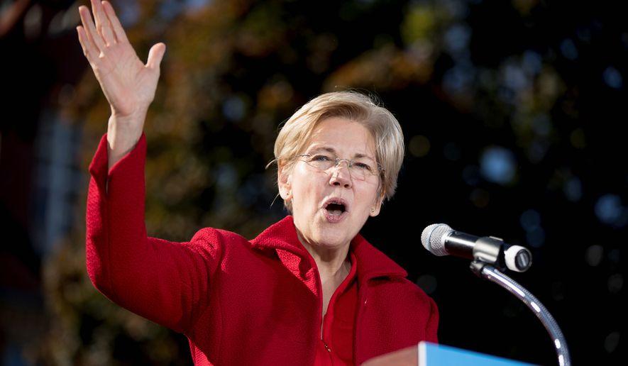 Sen. Elizabeth Warren. (AP Photo/Andrew Harnik, file)
