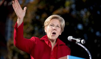 Sen. Elizabeth Warren. (AP Photo/Andrew Harnik, file)