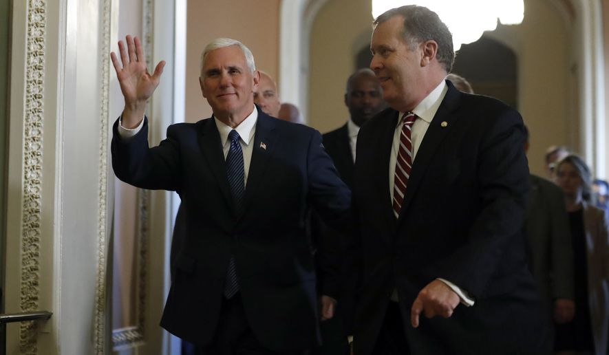 Mike Pence returns to Capitol Hill on Thursday as vice president-elect. (Associated Press)