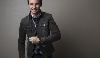 "In this Nov. 7, 2016 photo, actor Eddie Redmayne poses for a portrait in New York to promote his film, ""Fantastic Beasts,"" the first of a planned five prequels to the ""Harry Potter"" series by J.K. Rowling. (Photo by Taylor Jewell/Invision/AP)"
