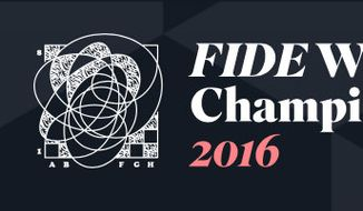 World Chess Championship 2016 logo from the official website.