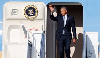President Obama embarks on his final foreign trip, his 52nd to a total of 58 countries during his eight years in office. (Associated Press)