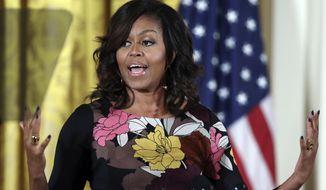 Michelle Obama (Associated Press)