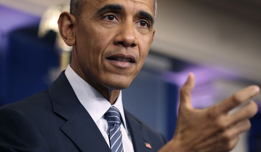 President Obama said it will be harder for Donald Trump to reverse the president's health and immigration policies than he thought. (Associated Press)