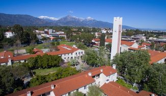 Photo of the Pomona College campus posted to the school's Facebook page.