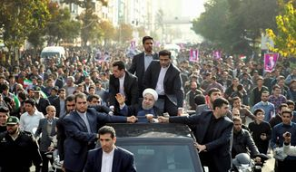 Iranian President Hassan Rouhani says the surprise presidential election of Donald Trump last week will have no effect on his country or on the multinational nuclear deal. (Associated Press)