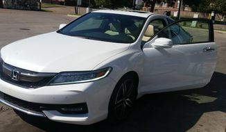 Much like the 2016 version, the 2017 Honda Accord has one new trim added to the mix otherwise it's business as usual in the family market. (Photo by Rita Cook).