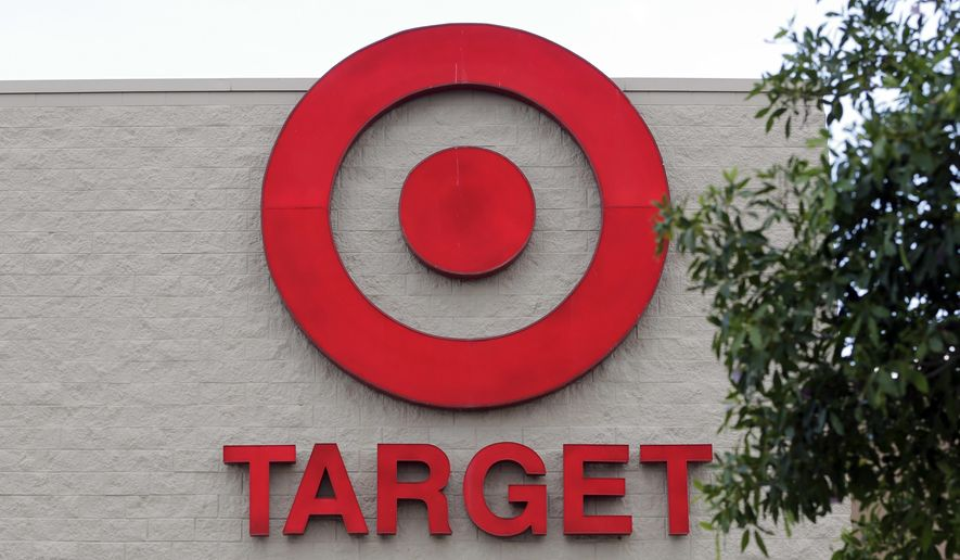 This Wednesday, June 29, 2016, file photo, shows a Target store in Hialeah, Fla. Target reports financial results Wednesday, Nov. 16. (AP Photo/Alan Diaz, File) **FILE**