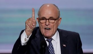 Rudy Giuliani (Associated Press) ** FILE **