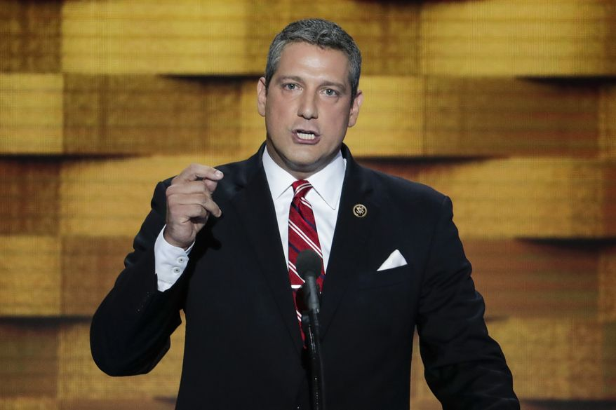 Rep. Tim Ryan, Ohio Democrat. (Associated Press) ** FILE **