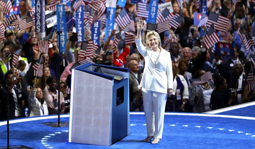 Following her Nov. 8 defeat by rival Donald Trump 55 percent of likely voters say Hillary Clinton should retire from public life. (Associated Press)