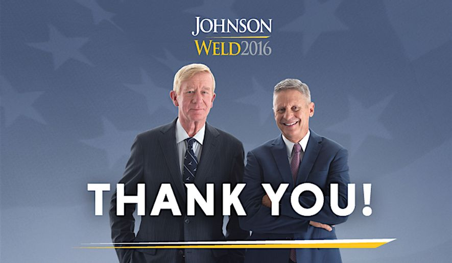 Libertarian nominee Gary Johnson has given an optimistic review of the 2016 election. (Image courtesy of Gary Johnson)