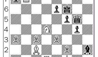 Steinitz-Lasker after 28...Kf6.