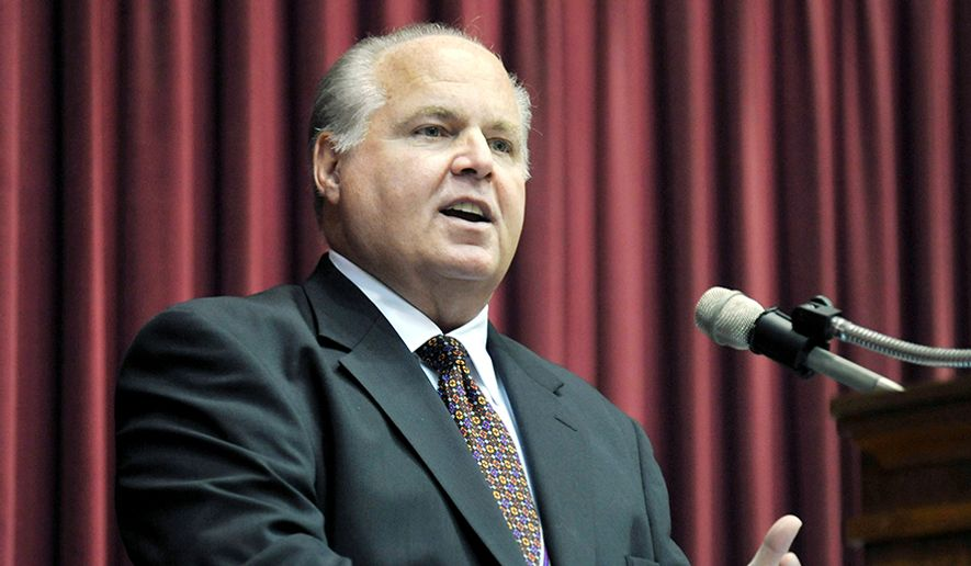 Conservative commentator Rush Limbaugh, 65 years old: $79 million. (AP Photo)