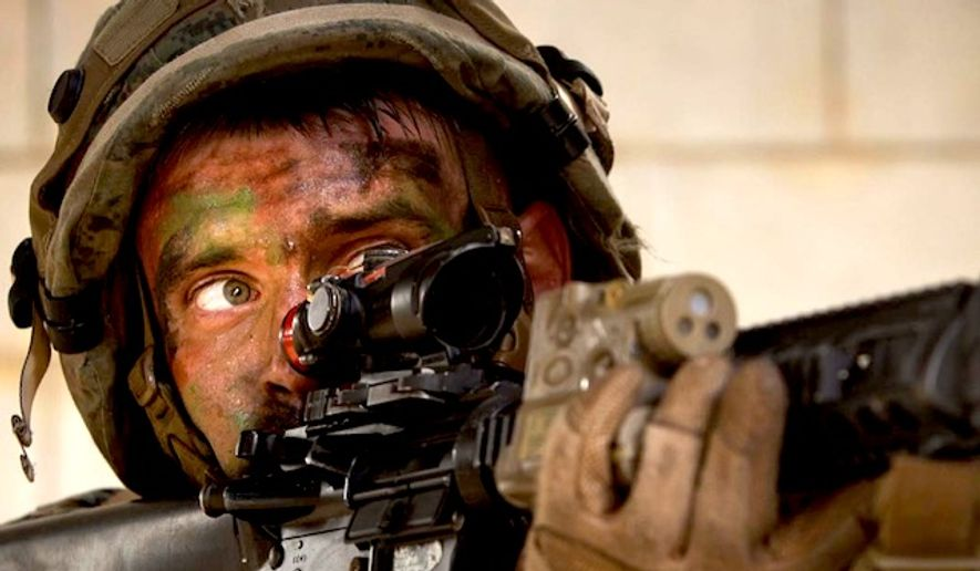 A Marine hones his skills in Central Training Area, Okinawa, Japan, Oct. 26, 2015. (Instagram, U.S. Marine Corps) ** FILE **