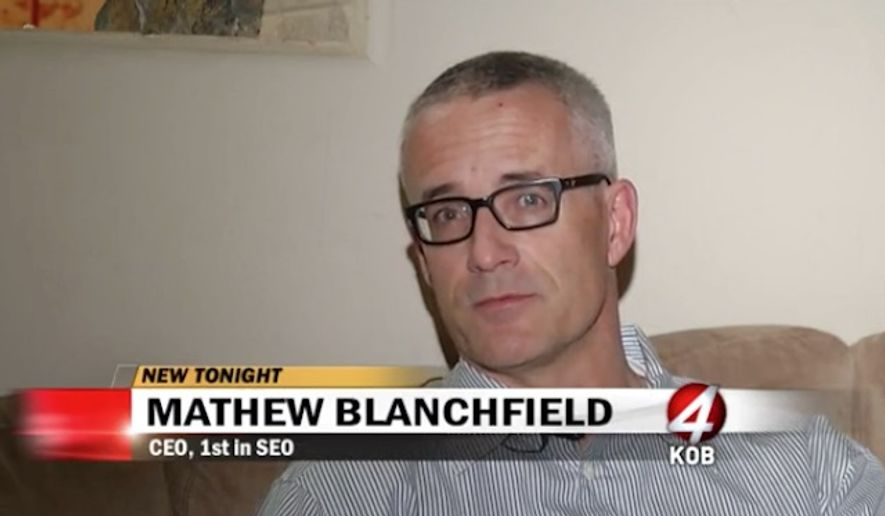 Mathew Blanchfield, the CEO of 1st in SEO, has issued a letter telling clients who support President-elect Donald Trump to take their business elsewhere. (KOB 4)