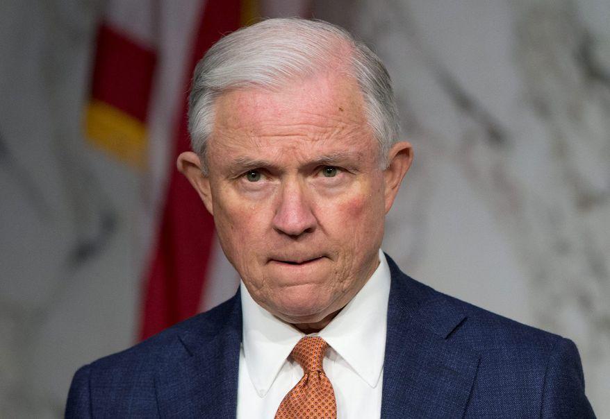 Sen. Jeff Sessions (Associated Press) ** FILE **