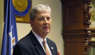 Sen. John N. Kennedy, Louisiana Republican. (Associated Press) ** FILE **