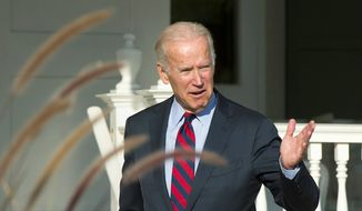 "Joseph R. Biden said he was reminded of the 1960s ""limousine liberals."" (Associated Press)"