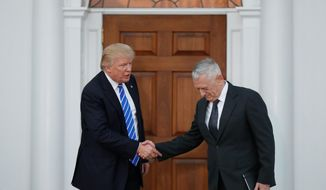 President-elect Donald Trump's top choice to leaded the Pentagon, retired Marine Corps Gen. James Mattis, is revered in military circles as a tough, no-nonsense battlefield commander. (Associated Press)