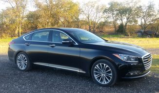 With the G80 introduction for 2017, Genesis has also upped the ante with additional features including the Tech and Signature packages, which now come standard. (Photo by Rita Cook).