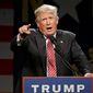 Donald Trump (Associated Press) ** FILE **