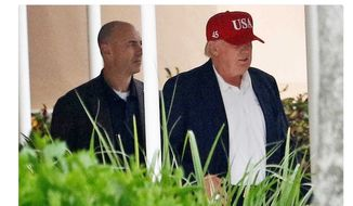 "President-elect Donald Trump is trading in his ""Make America Great Again"" hat for one that signifies his status as the next commander in chief. The new hat says ""USA"" with the number 45 on the side. (Twitter, New York Post)"