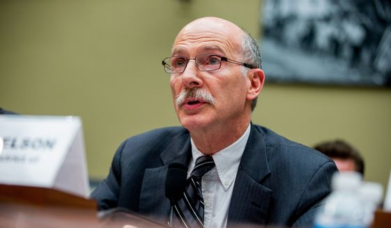 Washington, D.C. City Council Chairman Phil Mendelson. (AP Photo/Andrew Harnik) **FILE**