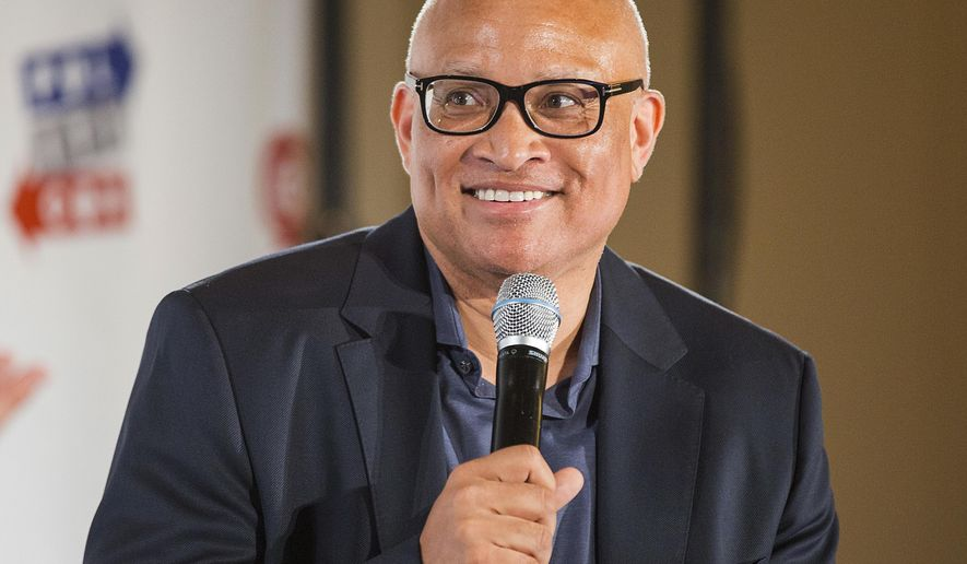 FILE - In this June 25, 2016 file photo, Larry Wilmore appears at Politicon 2016 at The Pasadena Convention Center in Pasadena, Calif. Wilmore, has signed a multi-year deal with ABC Studios, the company said Monday, Nov. 28. Under the deal, Wilmore will develop his own projects as well as supervise others while helping target talent for the studio. (Photo by Colin Young-Wolff/Invision/AP, File)