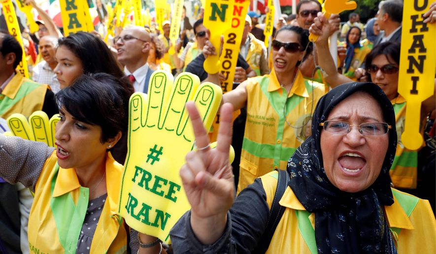 Iranian dissidents say Tehran has become even more oppressive against the populace since President Obama's negotiated nukes deal with the country, and are hopeful President-elect Donald Trump will show a stronger face to the Islamic republic. (Associated Press)