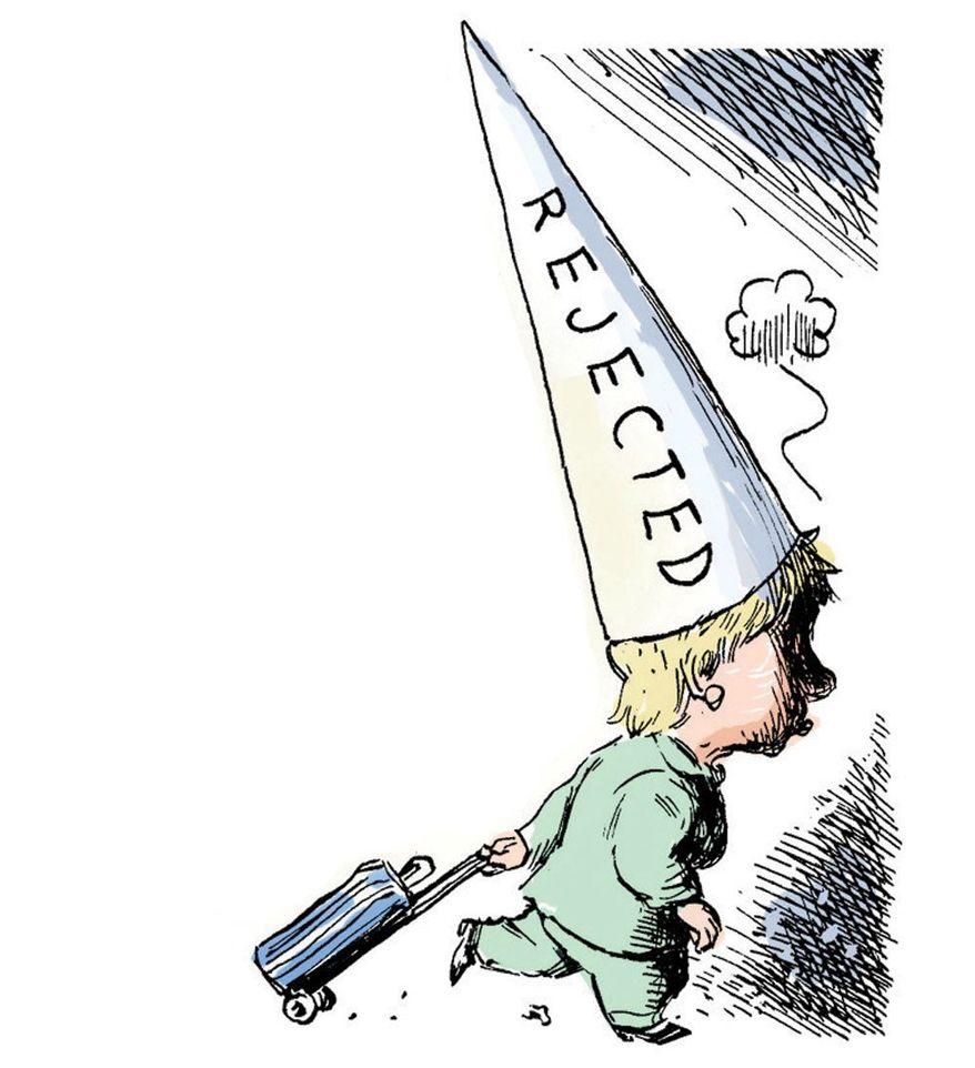 Hillary Clinton goes home by Alexander Hunter/The Washington Times