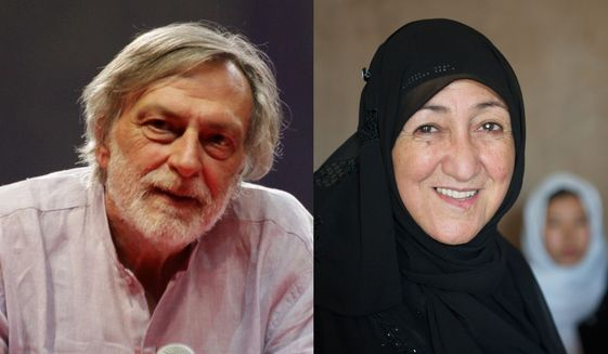 An Italian surgeon and an Afghan educator who consistently contributed to a sustainable and enduring international peace were named Tuesday as co-recipients of the 2nd annual Sunhak Peace Price — an international award that includes a cash award of $1 million. Dr. Gino Strada, who has provided medical and surgical care in 17 African and Middle Eastern nations for a quarter-century, and Sakena Yacoobi, who established multiple refugee-educational programs against considerable odds in Afghanistan, share the award, which has been likened to the Nobel Peace Prize.