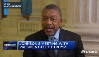 Bob Johnson, the founder of Black Entertainment Television who recently met with President-elect Donald Trump, said Tuesday that he's known the business mogul for years and still doesn't believe he's the racist that some paint him to be. (CNBC)