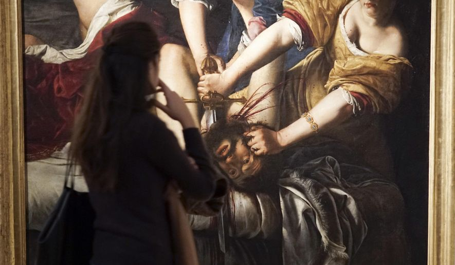 "Violence and Virtue: Artemisia Gentileschi's ""Judith Slaying Holofernes"""
