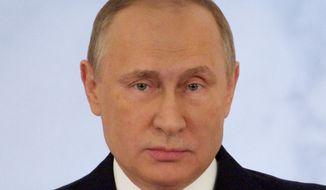 Russian President Vladimir Putin. (AP Photo/Pavel Golovkin)