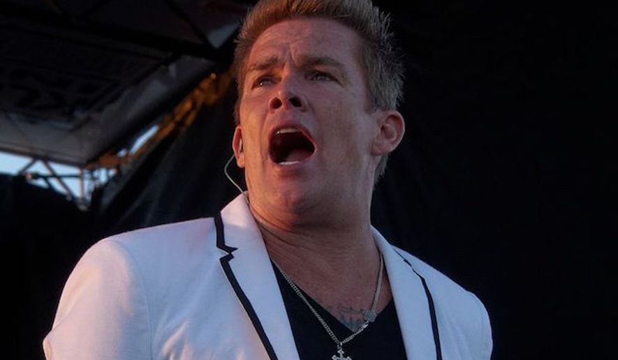 Mark McGrath of Sugar Ray performs live at the Huntington Beach Food Art & Music Festival in Huntington Beach, California, on Saturday, Sept. 6, 2014. (Wikipedia)